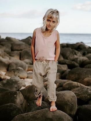 the SIMPLE FOLK       linen trouser