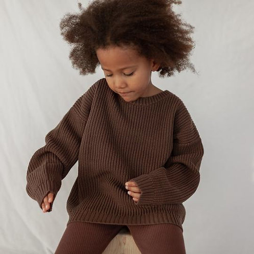 KINDLY || chunky knit sweater | fall