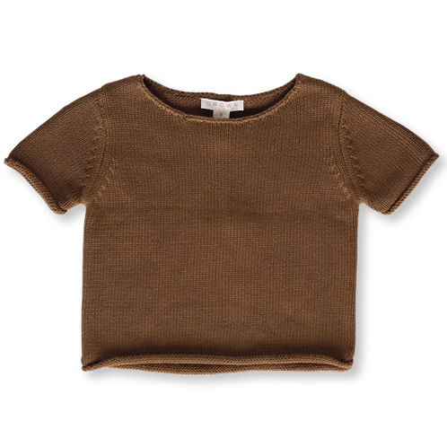 GROWN Australia || Knitted Sweater Tee || Earth