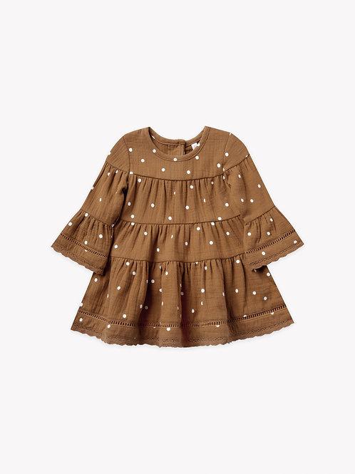 Belle Dress | Walnut