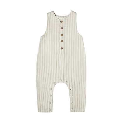 RYLEE and CRU    Button Jumpsuit   Sage