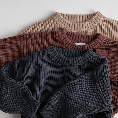 KINDLY || Chunky Knit Sweater | Winter