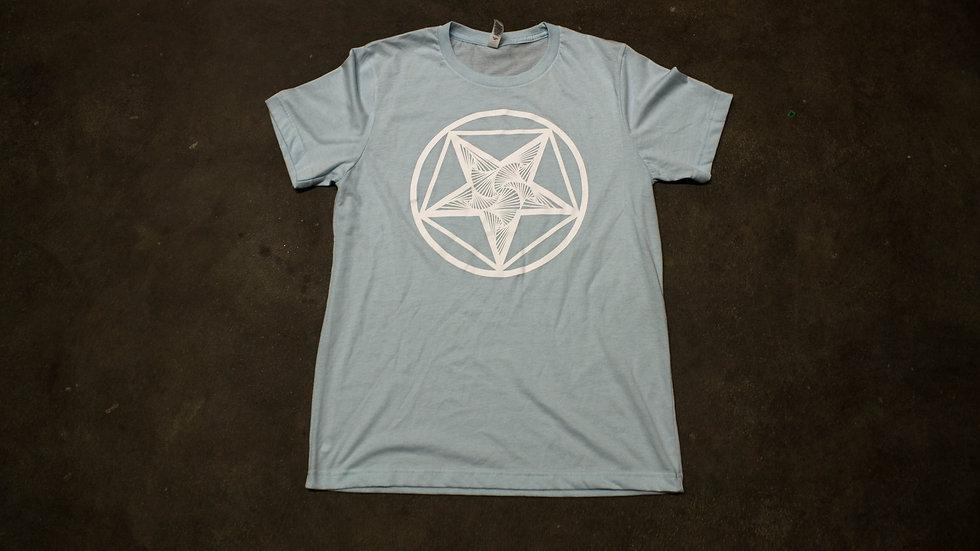 Light Blue Pentagram Shirt