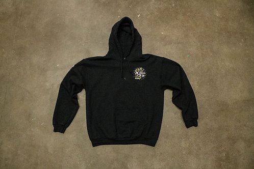Squeegee Eagle - Embroidered Hoodie