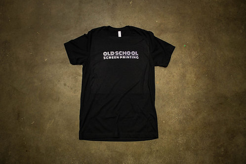 Old School Black Shirt