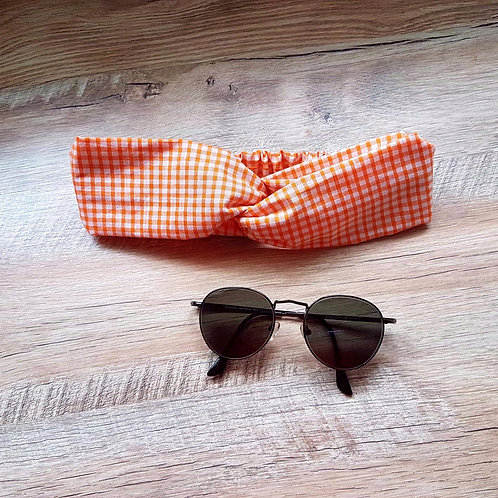 Orange Vichy