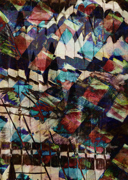Reflections 2 - Digital Monoprint