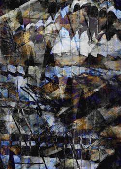 Reflections 1 - Digital Monoprint