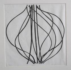 Lines - Woodcut - AP