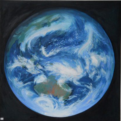 Globe - Oil on Canvas -