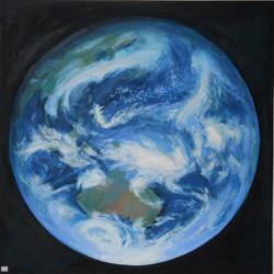Globe - Oil on Canvas -