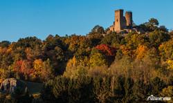 Kugelsburg im Herbst-3