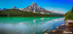 Mistaya Lake - Icefields Parkway