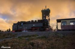 Der letzte Zug der Brockenbahn