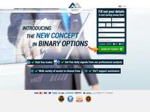 AA - Binary landing page
