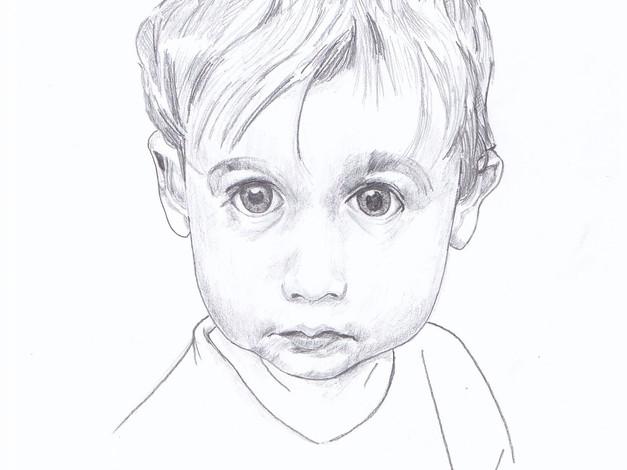Pencil - Babyboy Sketch