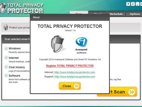 Privacy Protector - Desktop Application