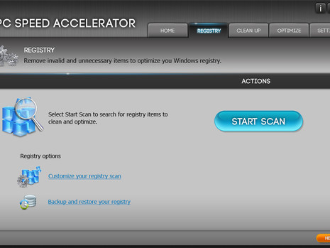 PC Speed Accelerator - Desktop Application