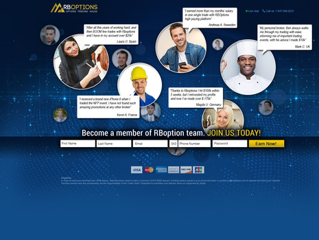 RBOptions - Binary landing page