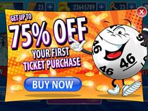 Bingo Mobile in app purchase popup