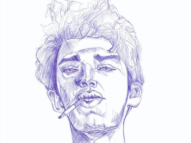 Pen - Guy Sketch