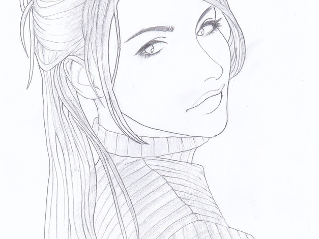 Pencil - Girl Sketch