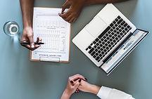 computer desktop meeting comprehensive initial intake dr. Chelsea Leander naturopathic doctor