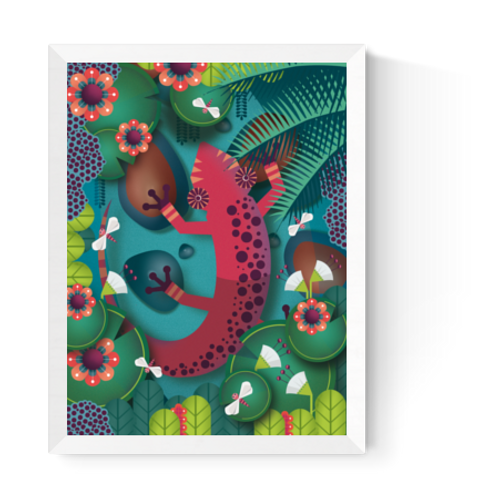Artprint 'Salamander'