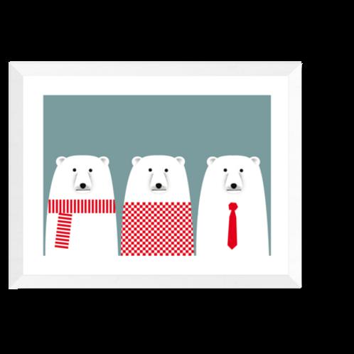 Artprint 'Polarbears'