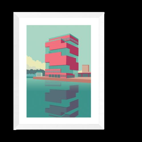 Artprint 'MAS Antwerpen'