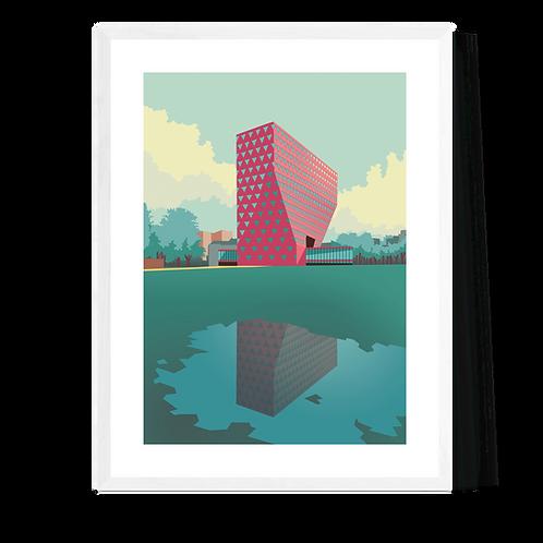 Artprint 'Antwerpen - Provinciehuis'