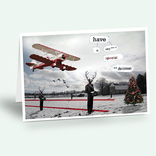 greeting card 'have a very special Christmas'