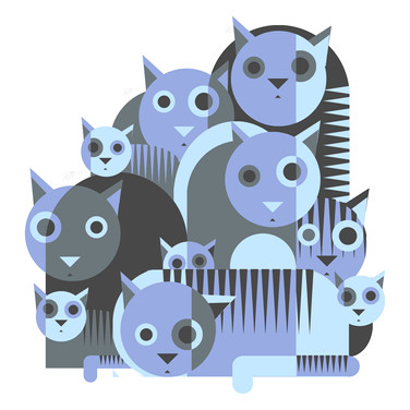 graphical cats PURPLE and grey S.jpg