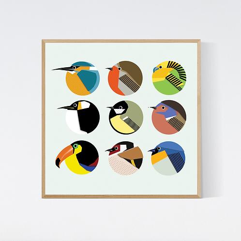 Artprint 'birds 1'
