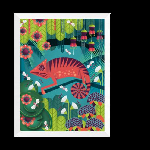 Artprint 'Chameleon'