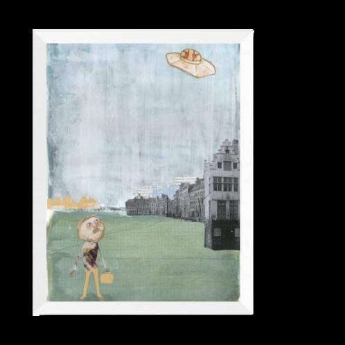 Artprint 'M. Humphrey's encounter'