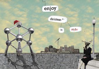 kerstmis - collage - enjoy christmas in