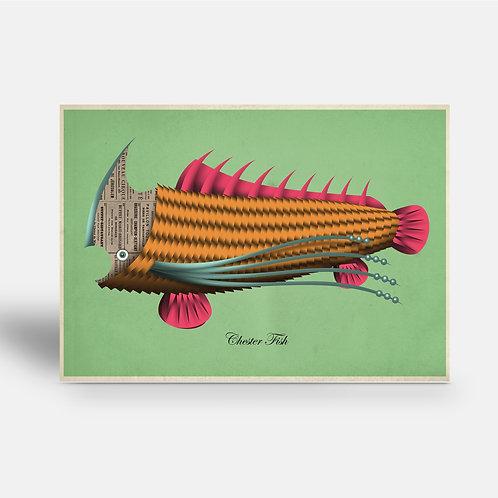 postcard 'Chester Fish'