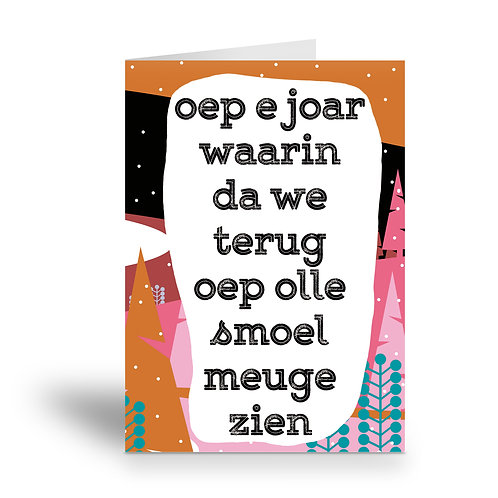 greeting card 'olle smoel'