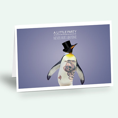 greeting card 'penguin'
