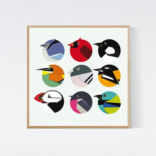 Artprint 'birds 2'