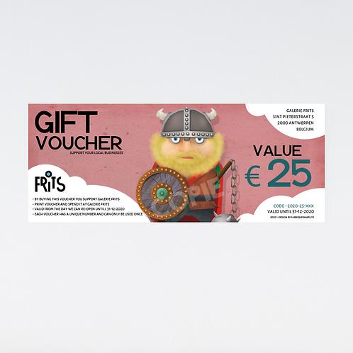 Gift Voucher 'Harald the viking'