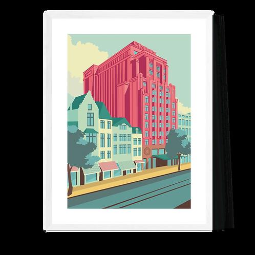 Artprint 'Antwerpen - Century Building'