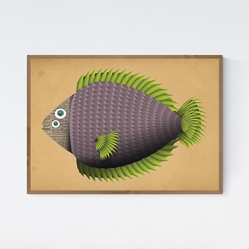 Artprint 'Margot Fish'