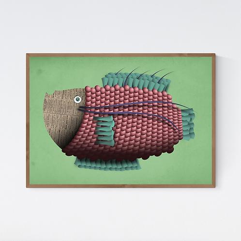 Artprint 'Jeanne Poisson'