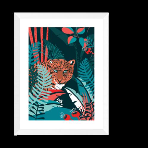 Artprint 'Jaguar'