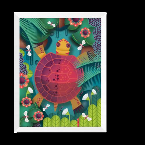 Artprint 'turtle'