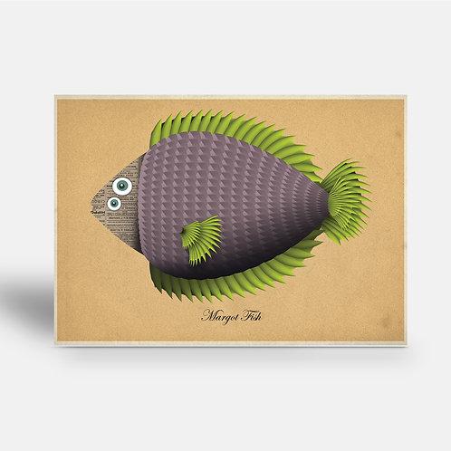 postcard 'Margot Fish'