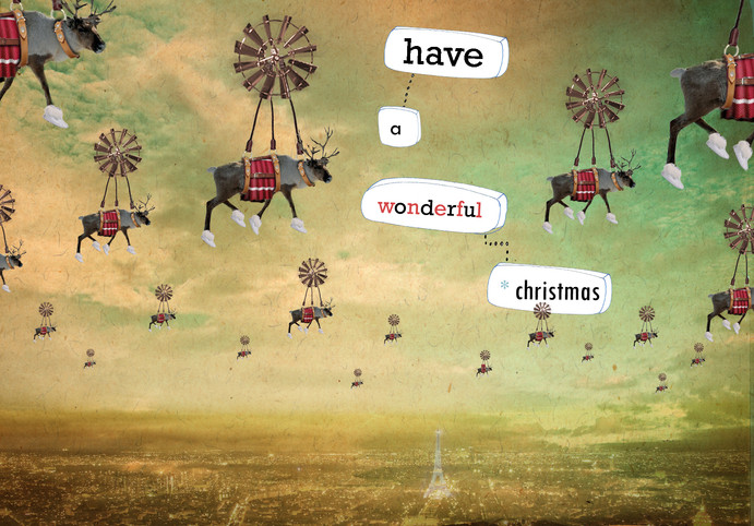 kerstmis - collage - have a wonderful ch