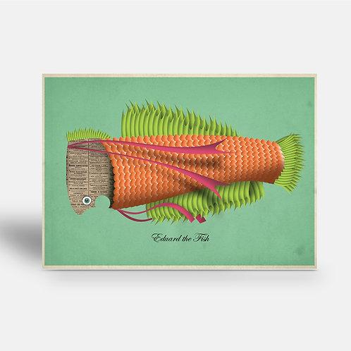postcard 'Eduard th Fish'